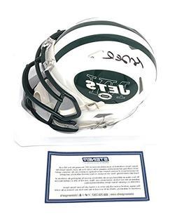 Sam Darnold New York Jets Signed Autograph Mini Helmet Stein