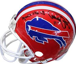 Scott Norwood 2x AFC Champs Autographed Buffalo Bills Mini H