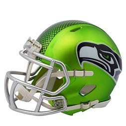 Seattle Seahawks - Blaze Alternate Speed Riddell Mini Footba