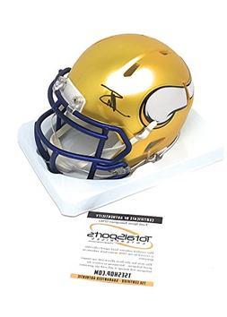 Stefon Diggs Minnesota Vikings Signed Autograph Blaze Speed