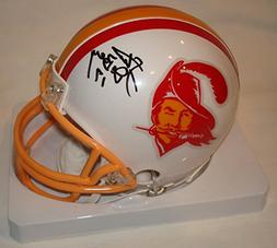 Steve DeBerg Signed / Autographed Tampa Bay Buccaneers Mini