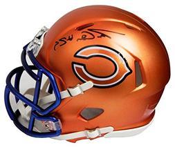Tarik Cohen Signed Chicago Bears Blaze Riddell Speed Mini He