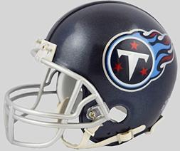 Riddell Tennessee Titans 2018 Satin Navy Metallic Mini Helme