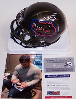 Tim Tebow Autographed Hand Signed Florida Gators Swamp Speed