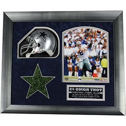 Tony Romo Signed 8x10 Framed Photo Collage w/Authentic Texas