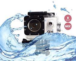 i-TecoSky 1080P Full HD Action Camera Sport Camera Sports Ca