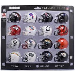 AFC Speed Pocket Pro NFL Mini Helmet Conference Set - 16 Hel