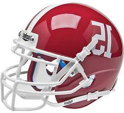 Alabama Crimson Tide Schutt #15 Authentic Mini Helmet
