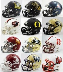 All 12 NCAA PAC 12 Conference Riddell SPEED Revolution Mini