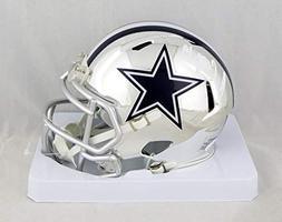 Amari Cooper Autographed Dallas Cowboys Chrome Mini Helmet-
