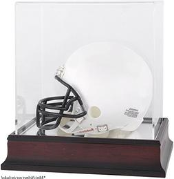 Antique Mahogany Mini Helmet Display Case - Fanatics Authent