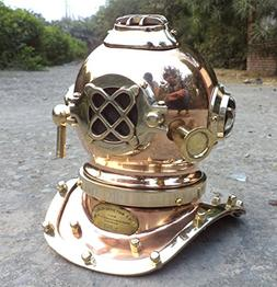 Collectibles Buy Antique Marine Mini Diving Helmet Replica M