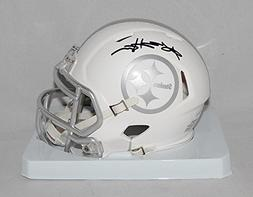 Antonio Brown Signed Pittsburgh Steelers Ice Mini Helmet- JS
