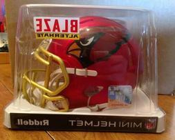 Arizona Cardinals Blaze Speed Mini Helmet - Rare ~ Discontin