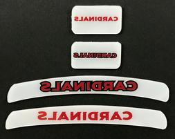 ARIZONA CARDINALS MINI HELMET DECAL SET