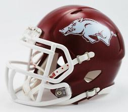 Arkansas Razorbacks Official NCAA Mini Helmet by Riddell 895
