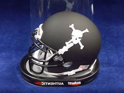 Army Matt Black Skull NCAA College Football Schutt Authentic