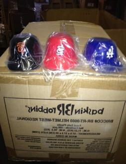 Atlanta Braves Lot of 40 MLB MINI SNACK HELMET ICE CREAM BOW