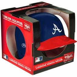 ATLANTA BRAVES RAWLINGS MINI BATTING BASEBALL HELMET WITH DI