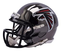 ATLANTA FALCONS - Chrome Alternate Riddell Speed Mini Helmet