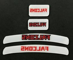ATLANTA FALCONS MINI HELMET DECAL SET