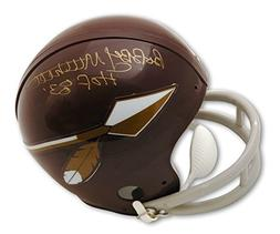 Autographed Bobby Mitchell Washington Redskins Throwback Min