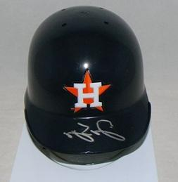 Autographed George Springer Signed Houston Astros Mini Batti