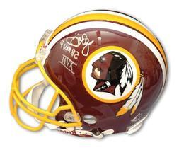 Autographed John Riggins Redskins Mini Helmet Inscribed SB X