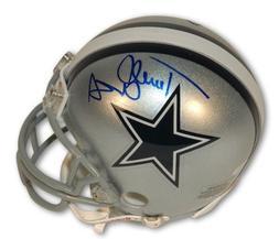 Autographed Terrell Owens Dallas Cowboys Mini Helmet