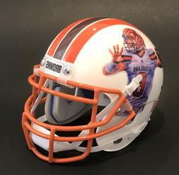Baker Mayfield Cleveland Browns Custom Art Schutt Football M