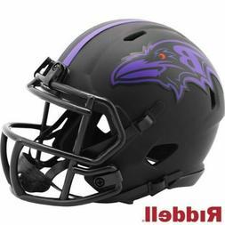 Baltimore Ravens Eclipse Alternate Riddell Speed Mini Helmet