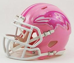 Riddell Baltimore Ravens PINK NFL Replica Speed Mini Footbal