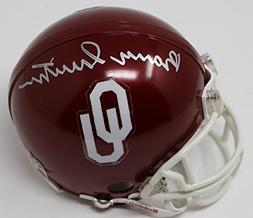 Barry Switzer Signed Mini Helmet Autographed Oklahoma Sooner