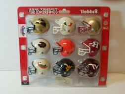 Riddell BIG EAST Conference Pocket Size Mini Helmet Set NCAA