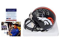 Bill Romanowski Signed Mini Helmet - Denver Broncos Autograp