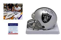 Bo Jackson Autographed / Signed Oakland Raiders Mini Helmet