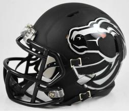 Boise State Broncos Black Matte Riddell Speed Mini Football