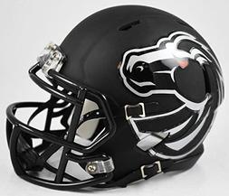 Boise State Broncos Black Matte Speed Mini Football Helmet