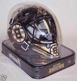 Boston Bruins Franklin Sports NHL Mini Goalie Mask Helmet -