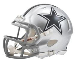 Brand New NFL Riddell Dallas Cowboys Revolution Speed Mini F
