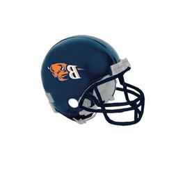 Bucknell Riddell Replica Navy Mini Helmet 'B w/Bison Head'
