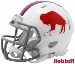 Buffalo Bills Throwback Speed Color Rush Riddell Mini Helmet