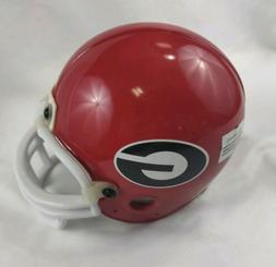 Georgia Bulldogs Red Mini Football Helmet 2009 Independence