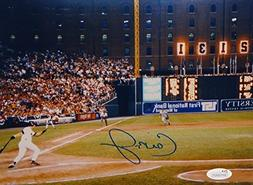 Cal Ripken Jr Autographed Baltimore Orioles 8x10 Scoreboard