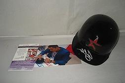 Carlos Correa Autographed Signed Houston Astros Mini Batting