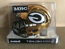 Riddell Chrome Alternate NFL Speed Mini Helmet Green Bay Pac