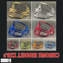 Chrome Riddell Z2B Mini Helmet Facemask Custom Replacement P