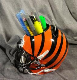 CINCINNATI BENGALS mini helmet office desk caddy custom schu