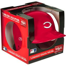 CINCINNATI REDS RAWLINGS MINI BATTING BASEBALL HELMET WITH D