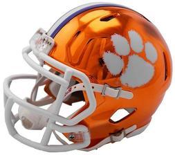 Clemson Tigers 2018 Alternate Chrome NCAA Riddell Speed Mini